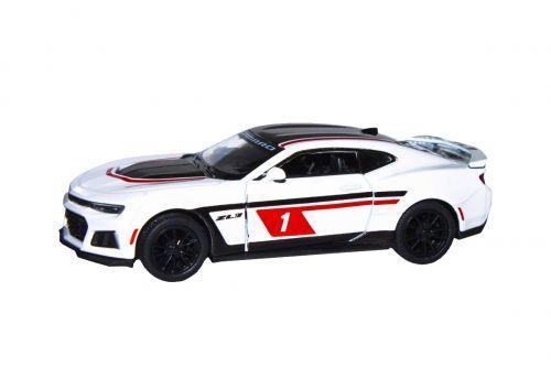 "Машинка KINSMART ""Chevrolet Camaro ZL1"" (белая) KT5399FW"