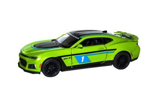 "Машинка KINSMART ""Chevrolet Camaro ZL1"" (зеленая) KT5399FW"