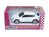 """Машинка KINSMART """"Lamborghini Urus"""" (белая) KT5368W, фото 2"""