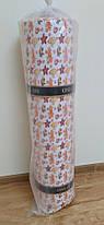 Ткань для постельного белья Фланель (байка) детская FLB1002 (40м) крабики и рыбки на белом, фото 3