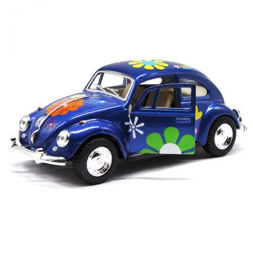 """Машинка KINSMART """"Volkswagen Beetle"""" (синяя) KT5057WF"""