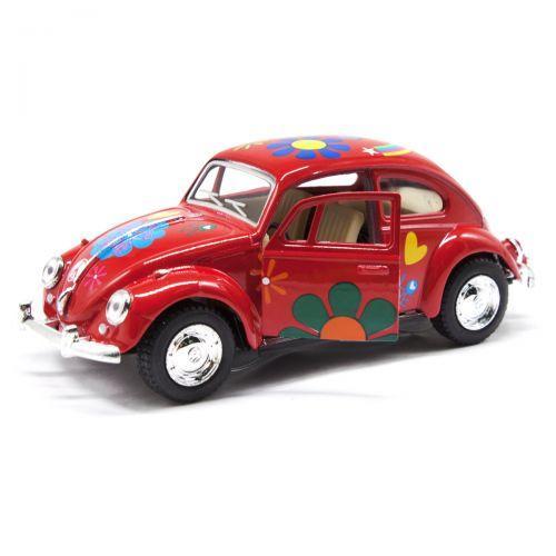 "Машинка KINSMART ""Volkswagen Beetle"" (красная) KT5057WF"