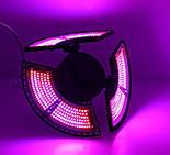 Фитолампа трехлепестковая 504 LED красно-синий спектр E27, фото 2