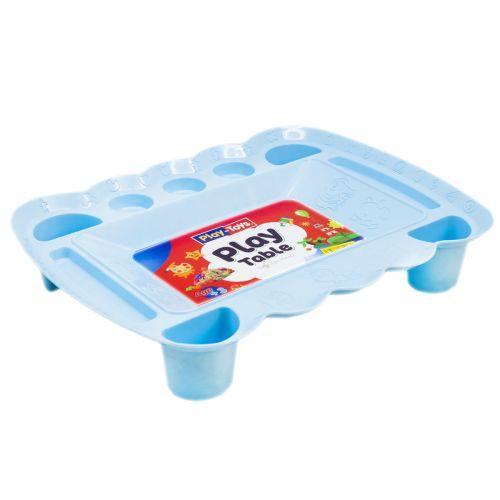 Игровой столик для песка и пластилина (голубой) PT 4164