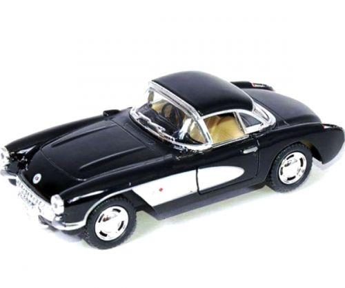 "Машинка KINSMART ""Chevrolet Corvette"" (черная) KT5316W"