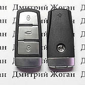 Смарт ключ для VOLKSWAGEN 3 - кнопки, с чипом id 48 микросхема 434 Mhz