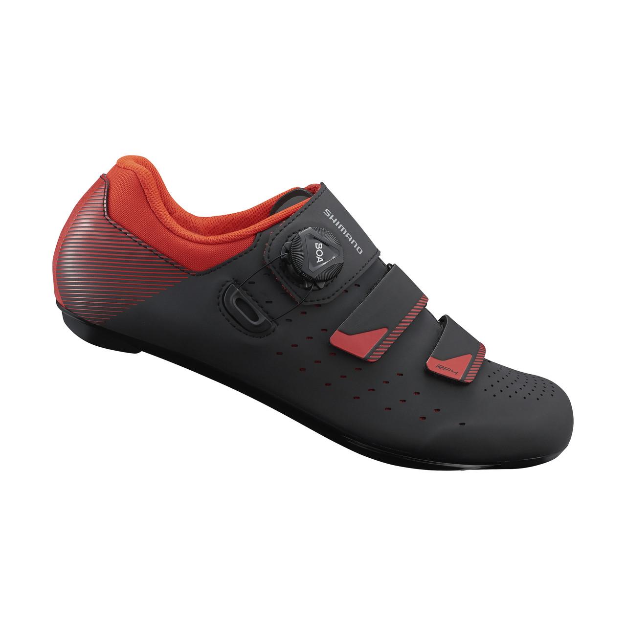 Веловзуття SHIMANO RP400MGL чорно-червоне, розм. EU47