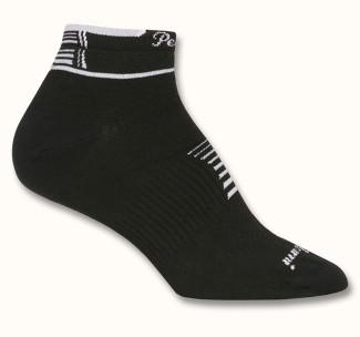 Шкарпетки жіночі Pearl Izumi ELITE низькі, чорн/біл, розм. S