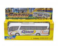 """Инерционный автобус """"Coach"""" (белый) KS7101W, фото 2"""