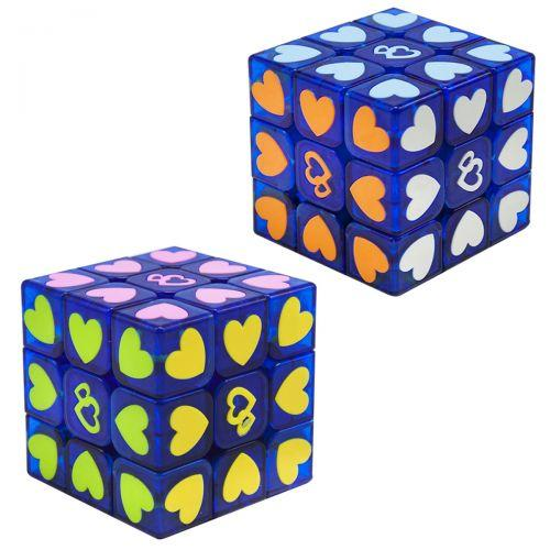 """Неоновый Кубик Рубика """"Сердечки"""" 3 х 3 FX7830"""