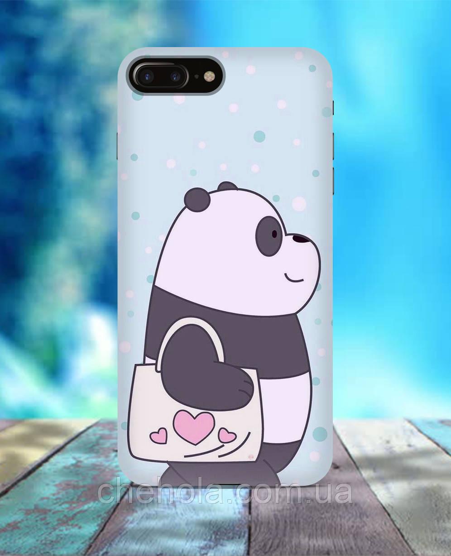 Чехол для iPhone 7 8 7 Plus 8 Plus Панда We bare bears