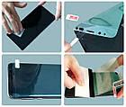 Пленка гидрогель Mosbo для Samsung Galaxy A10 глянцевая защитная полиуретановая силиконовая TPU Прозрачный, фото 3
