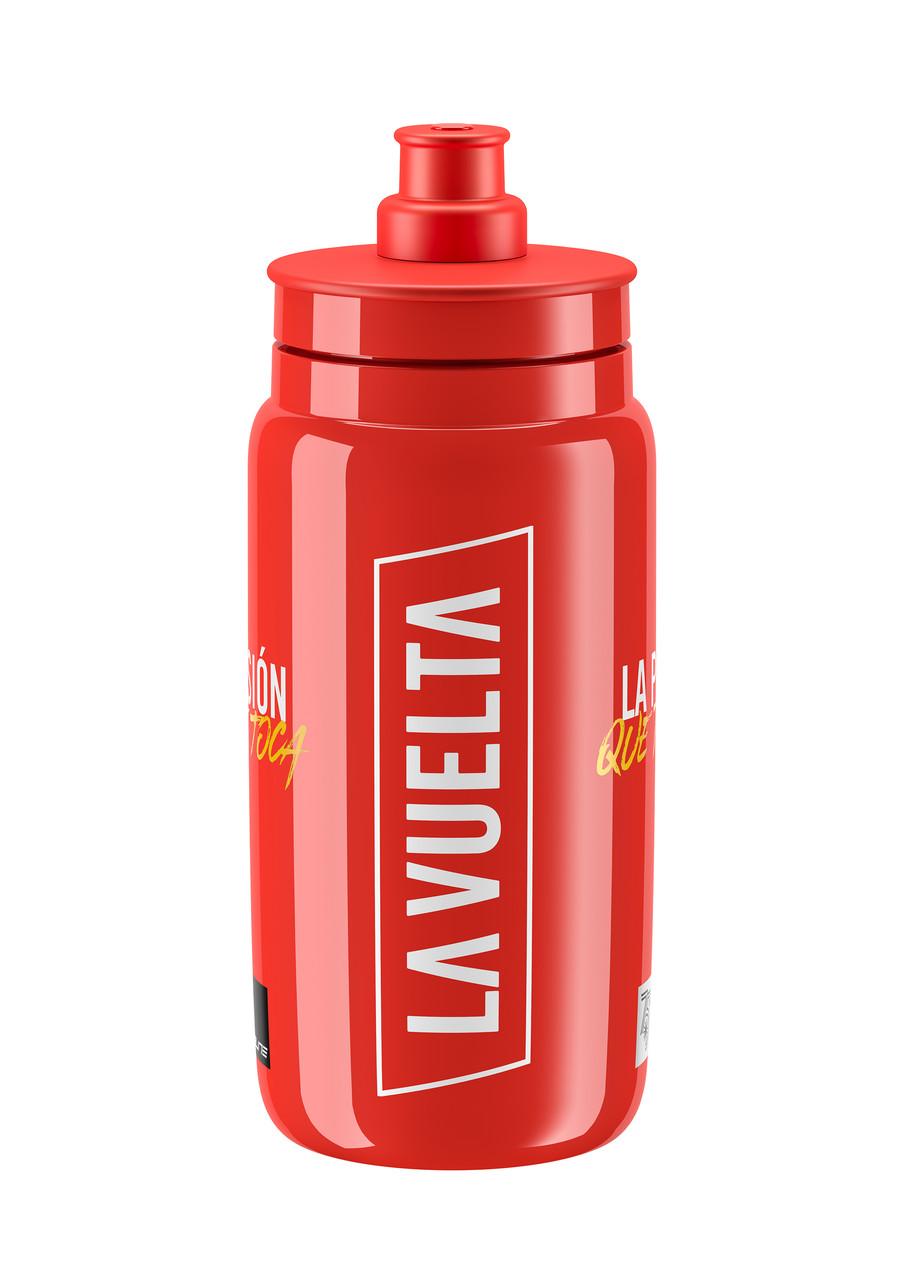 Фляга ELITE FLY VUELTA ICONIC 2020 червона 550мл