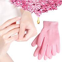 Спа перчатки для увлажнения рук, спа перчатки для маникюра, спа перчатки с прослойкой масел