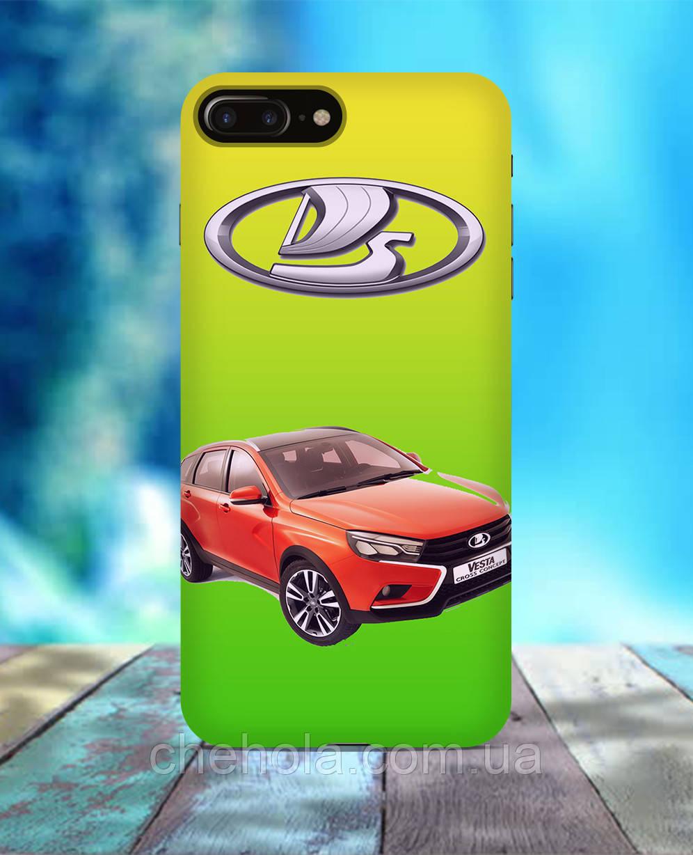 Чехол для iPhone 7 8 7 Plus 8 Plus LADA Vesta