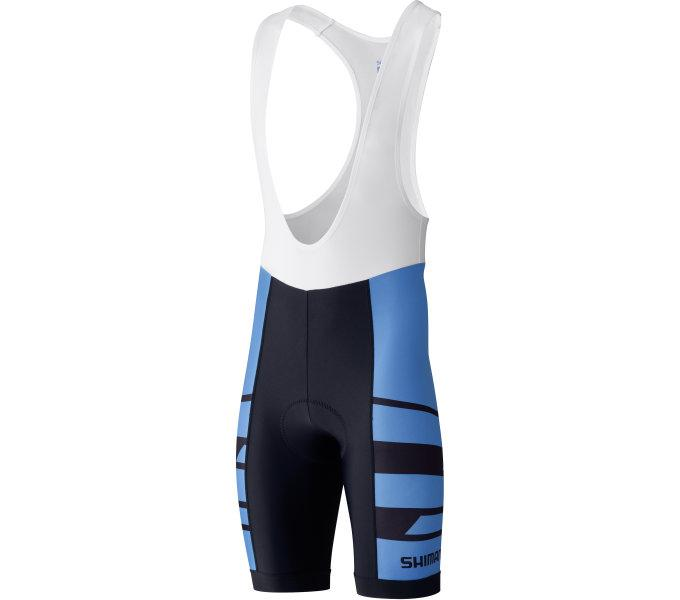 Велотруси Shimano TEAM з лямками, сині, розм. XXL