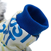 Комбинезон с капюшоном для собак Hoopet HY-Y2256 Blue XL теплый зимний, фото 5
