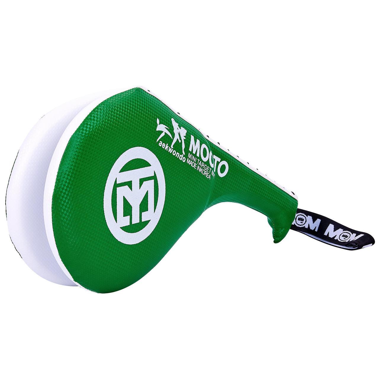 Ракетка для тхэквондо двойная MTO F-06 Зеленый