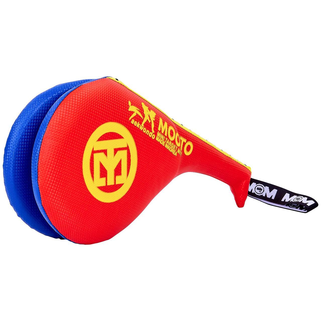 Ракетка для тхэквондо двойная MTO F-06 Красный