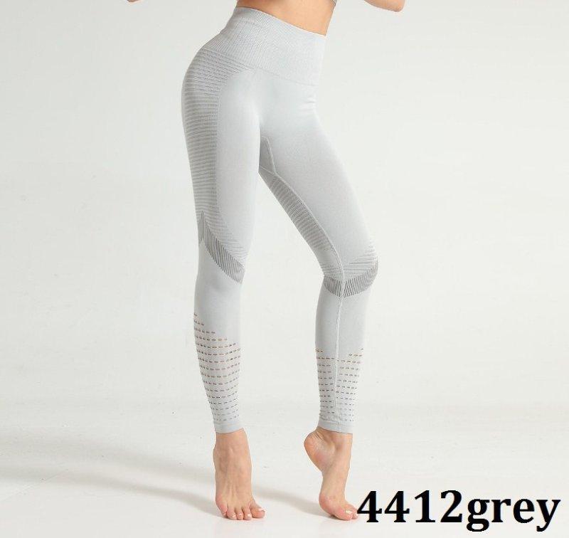 Женские спортивные лосины для йоги и фитнеса 4412grey | 1 шт.