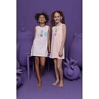 Красивое платье девичье для дома Donella (Турция) 6/7-10064 | 1 шт.