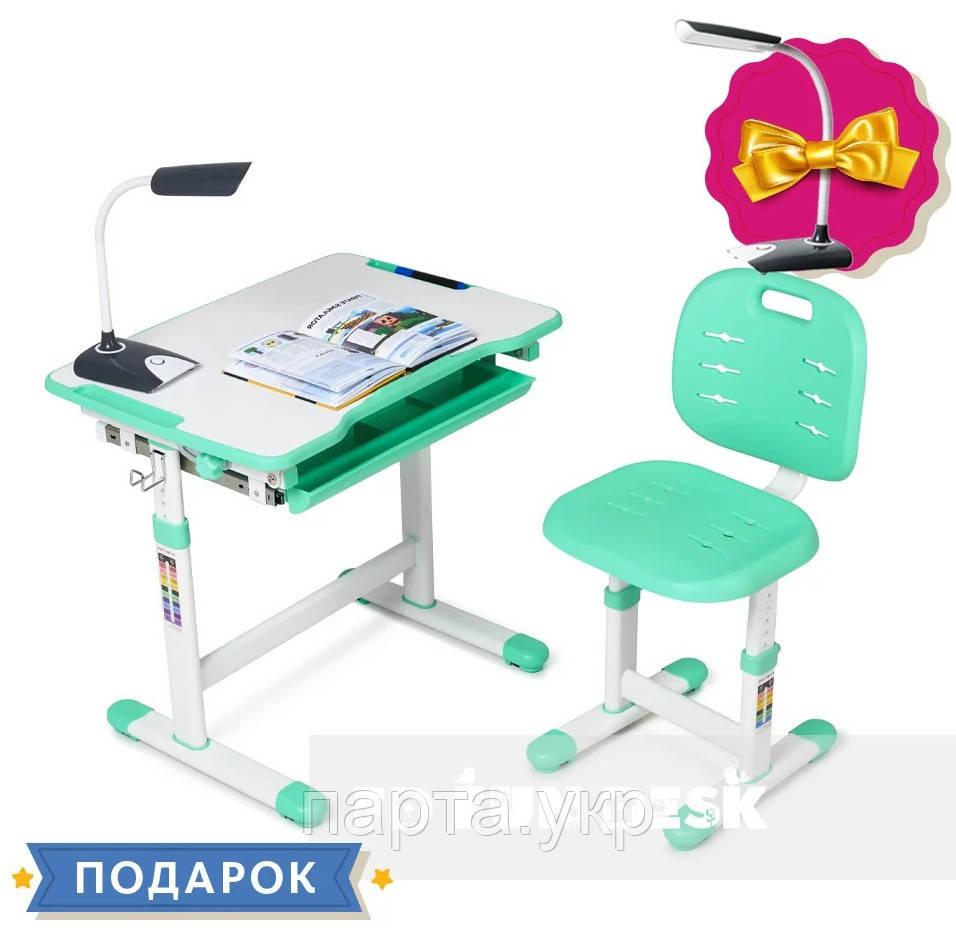 Комплект Piccolino 3, парта и стул трансформеры , 4 цвета