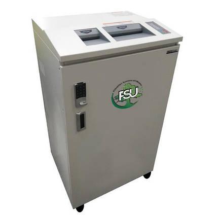 Дробилка для измельчения бумаги, картонных папок, файлов, пластиковых карт, CD-дисков типа FSU, фото 2