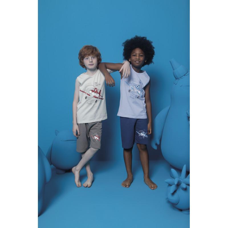 Комплект пижамный для мальчиков: майка и шорты Doni (Турция) 4/5-11540 | 1 шт.
