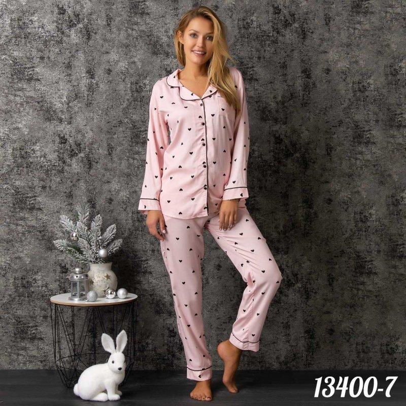 Комплект-двойка женский: рубашка и брюки Dominant (Турция) 13400-7 | 1 шт.