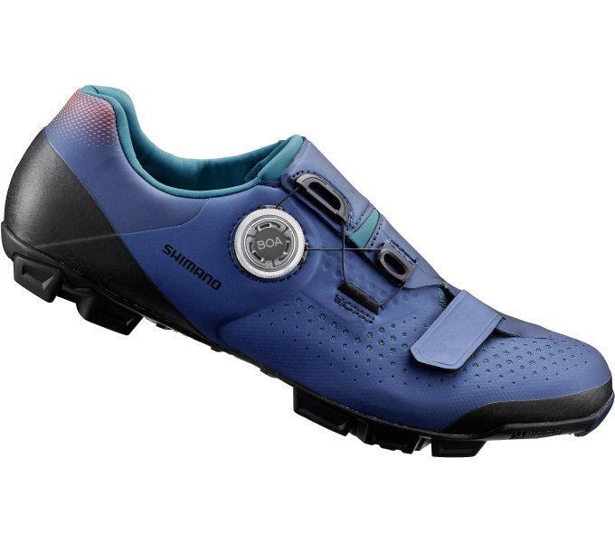 Веловзуття жіноче SHIMANO XC501WN синє, розм. EU39