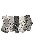Комплект носков для девочки с люрексом (5шт)