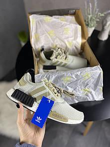 Чоловічі кросівки Adidas NMD Runner Green Grey 44