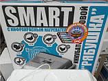 Инкубатор Рябушка Smart turbo 70 цифровой с вентилятором с ручным преворотом постоянно опт и в розницу,Харьков, фото 3