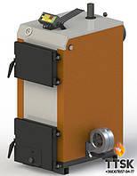 Твердотопливный котел KOTLANT КГ-15 с электронной автоматикой и вентилятором