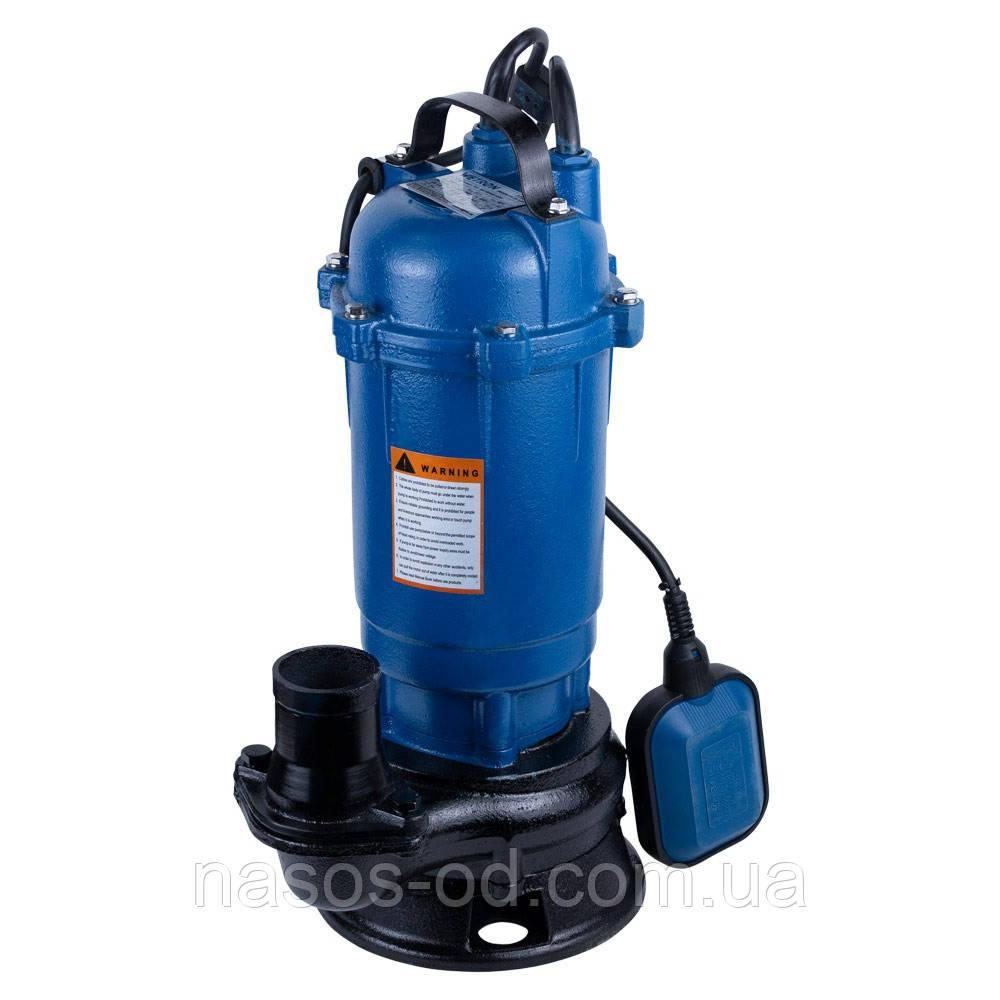 Насос канализационный 1.1кВт Hmax 10м Qmax 200л/мин WETRON (773361)