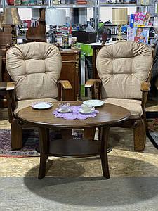 Мягкие деревянные кресла  из Германии «Жардин»