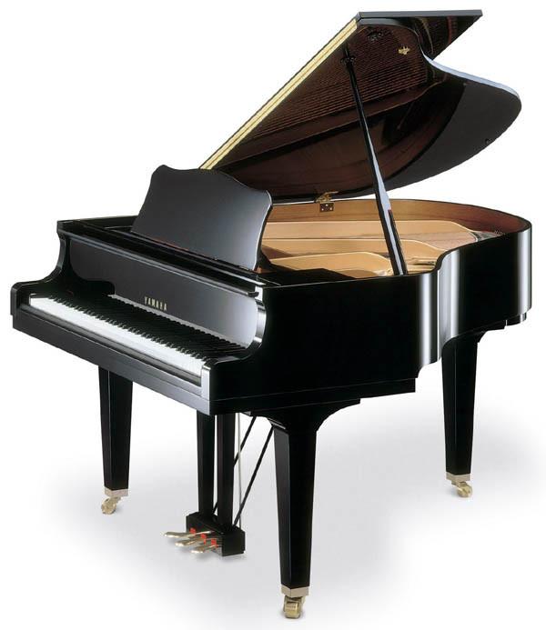 Акустичний рояль YAMAHA GC1 (Polished Ebony)