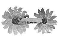Різьбомір метричний 60° YATO 0.25 - 6 мм 24 шаблона