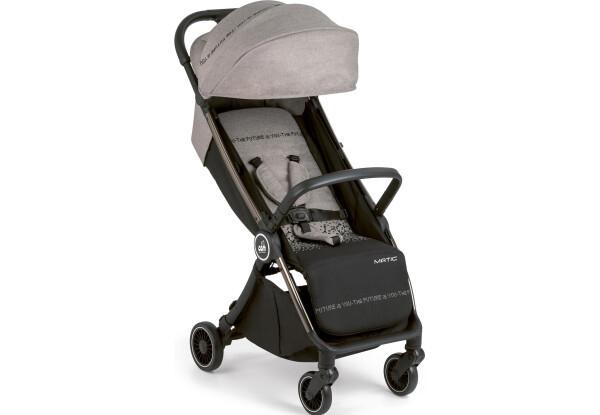 Детская коляска Прогулочная коляска Cam Matic серый с черным (826/142)