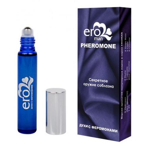 Духи с феромонами мужские CHROME №6 10 ml возбуждающие духи