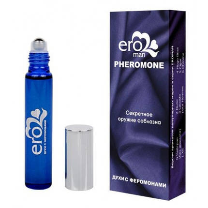 Духи с феромонами мужские CHROME №6 10 ml возбуждающие духи, фото 2