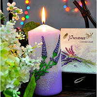 Свеча ароматическая, декоративная для дома, Bartek цилиндр, 70х150 (skl)