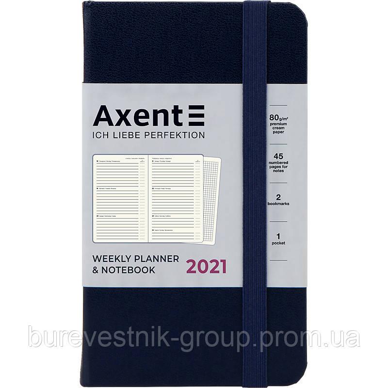 """Еженедельник / планинг карманный датированный на 2021 г. Axent """"Pocket Strong"""" (8508-21-02-A)"""