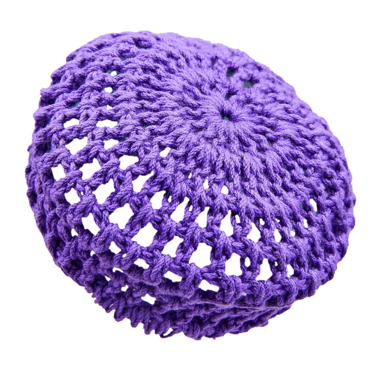 Сеточка для волос на пучек Zelart CO-9503 (Фиолетовый)