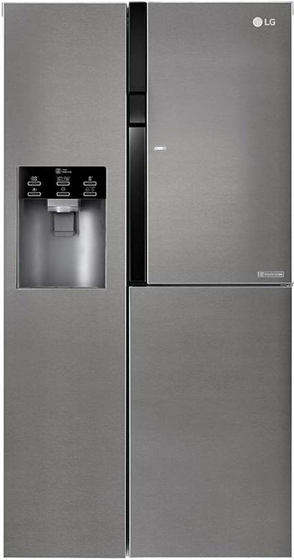 Холодильник з морозильною камерою LG GSJ361DIDV