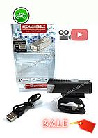 Светодиодная велосипедная фара Raypal RPL-2255 с USB, 300 Lumens, модель GA-28
