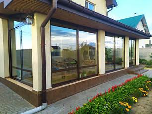 Алюминиєві двери вікна перегородки тераси