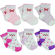 Носочки для новорожденного хлопковые