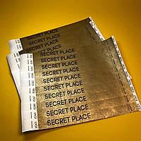 Браслеты контрольные для Secret Place с печатью черным цветом