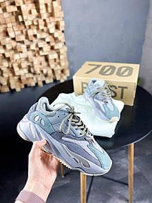 Унісекс Кросівки Adidas Yeezy Boost 700 Teal Blue
